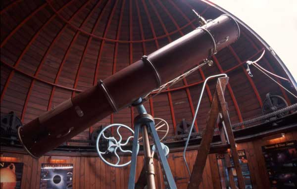 view of the telescope now